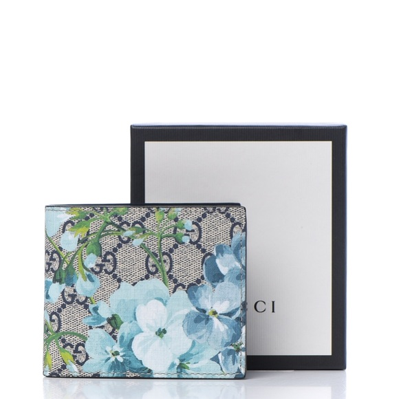 Gucci Other - Gucci GG Supreme Monogram Blooms Bi-Fold Wallet